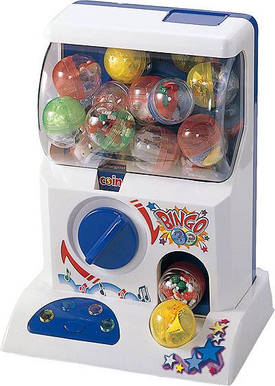 アイデア次第で子供から大人まで楽しめるガチャガチャ「ガチャポン自販機」