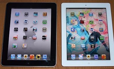 New iPad(第3世代)購入レビュー 自炊コミックで初代iPadと比較