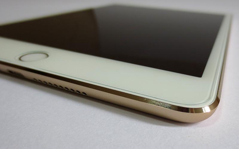 iPad mini 4【液晶保護強化ガラスrise】レビュー・感想:格安800円でも見やすさと使いやすさは抜群