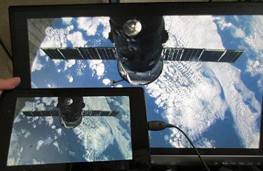 新型 NEXUS7 2013をSlimPortを使ったHDMIケーブルで外部ディスプレイに映してみた