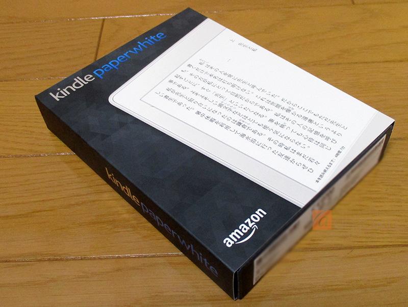 Kindle Paperwhite 32GB、マンガモデル、Wi-Fi 、ホワイトの外箱