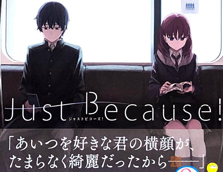 小説【Just Because!】レビュー:アニメの最終回ネタバレありの原作本