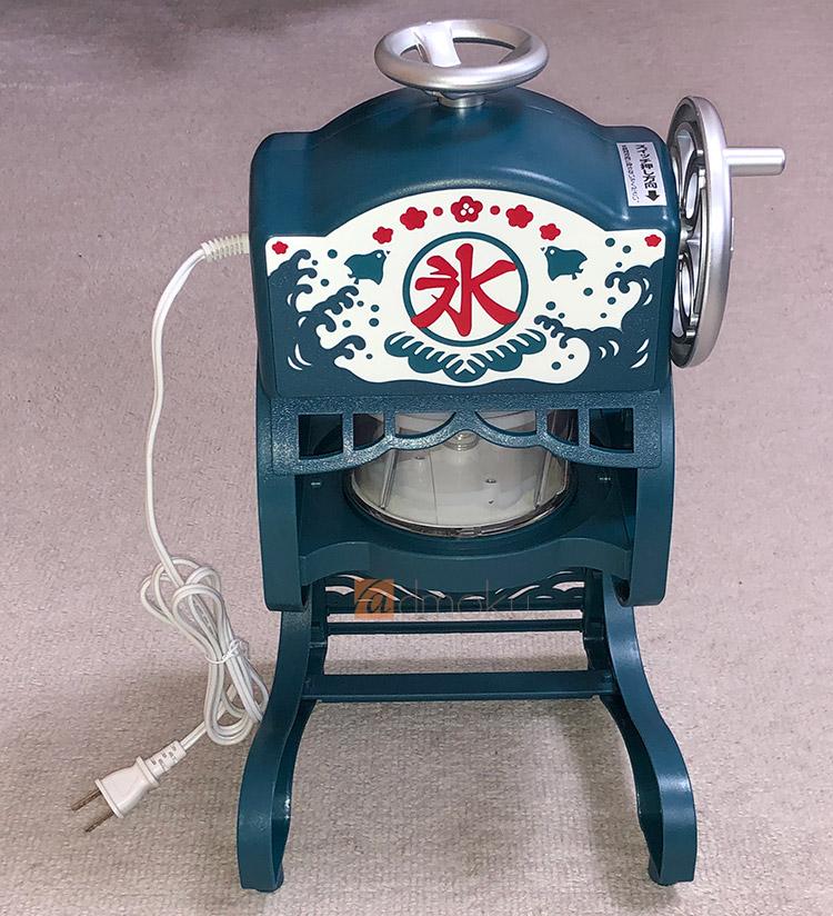 ドウシシャ 電動本格ふわふわ 氷かき器 KCSP-1851 レビュー:夏に必須アイテム!フワからシャリまで自由自在!!
