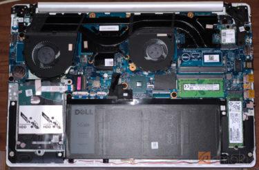 DELL G3 15プラチナ 購入レビュー!分解してHDDを換装