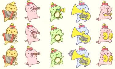 超絶癒やし系!猫の楽器演奏パレード動画『みっちりねこマーチ』のまネコじゃないよ